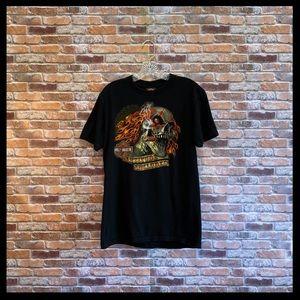 Harley-Davidson Attitude Included Skull/Cigar Tee